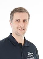 Sektionsleiter Orthopädie, Dr. med. Edelbert Rosenfelder