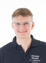 Leitender Oberarzt, Dr. med. Jochen Weißenburger