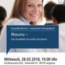 Gesundheitsforum Langenau, Rheuma
