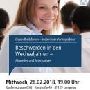 Gesundheitsforum Langenau, Wechseljahre