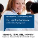 Gesundheitsforum Ehingen, März 2018