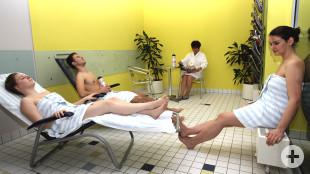 Ruheraum-Saunabereich