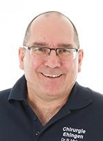 Sektionsleiter Handchirurgie, Dr. med. Rainer Minholz