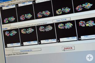 Gangbildanalyse - Auswertung der gemessenen Daten am Computer