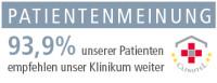 Alb-Donau Klinikum, Weiterempfehlungsrate